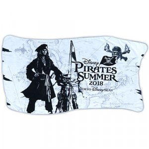 Pirates Summer Bath Towel