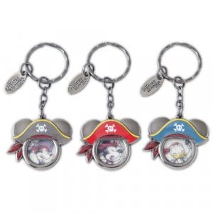 Pirates Summer Keychain Set
