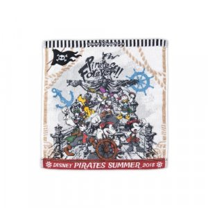 Pirates Summer Mickey Wash Towel