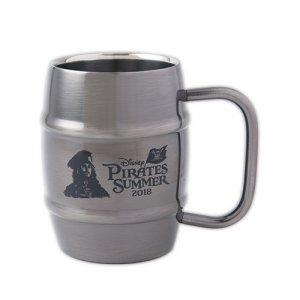Pirates Summer Steel Mug