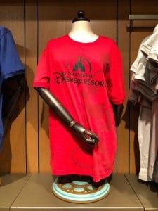 Shanghai Disney Resort Red T-shirt