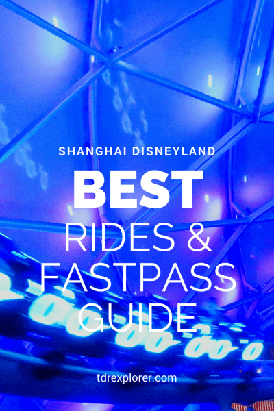 Shanghai Disneyland Best Rides TRON Close