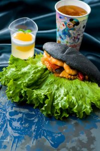 Shrimp and Octopus Ratatouille Sandwich