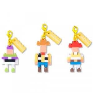 Toy Story Nanoblock Keychain Set at Tokyo Disney Resort