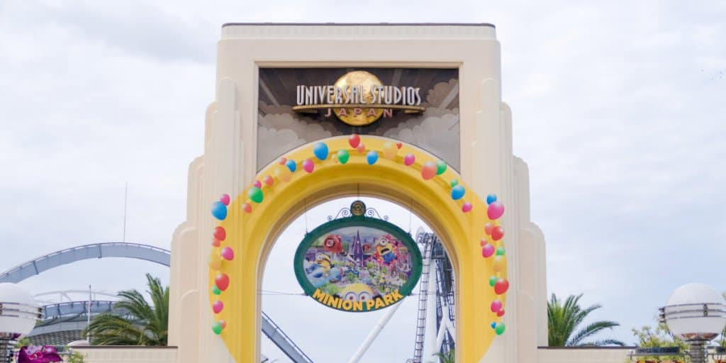 Universal Studios Japan open after earthquake in Osaka region