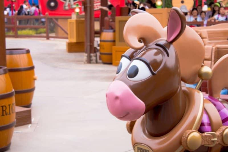 Woody's Roundup Shanghai Disneyland