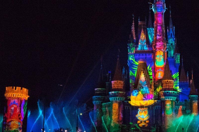 Celebrate Tokyo Disneyland Colourful