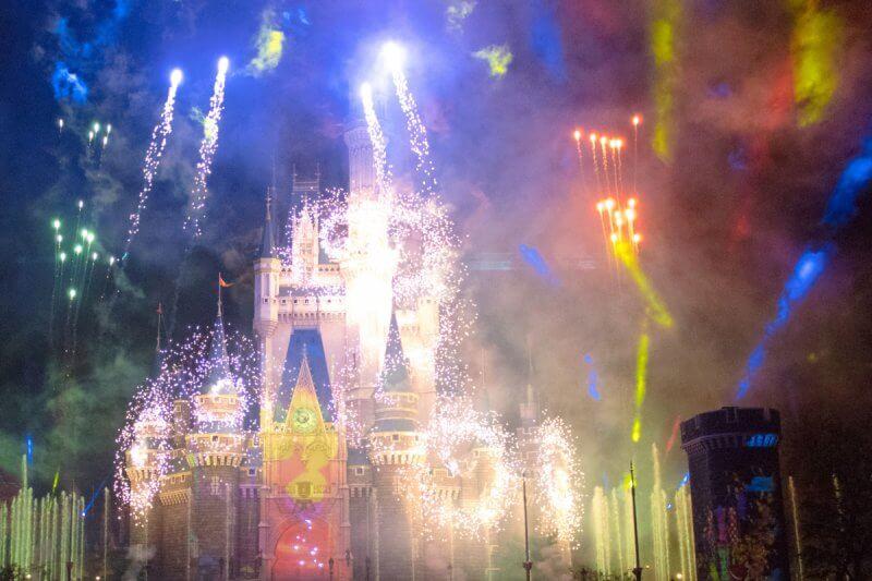 Celebrate Tokyo Disneyland Colourful Sky