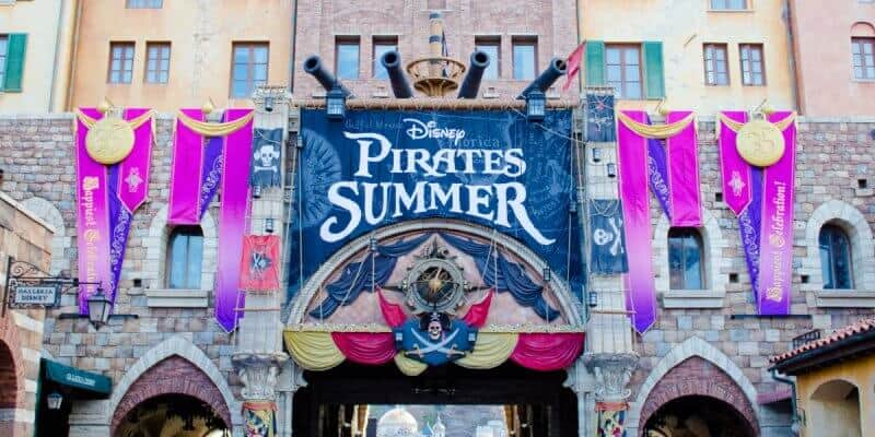 Disney Pirates Summer Tokyo DisneySea