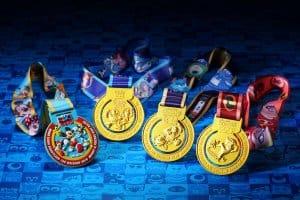 Hong Kong 10k Weekend Medals