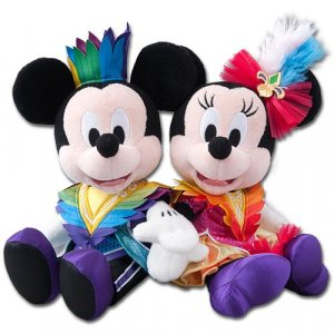 Let's Party Gras Plush Set