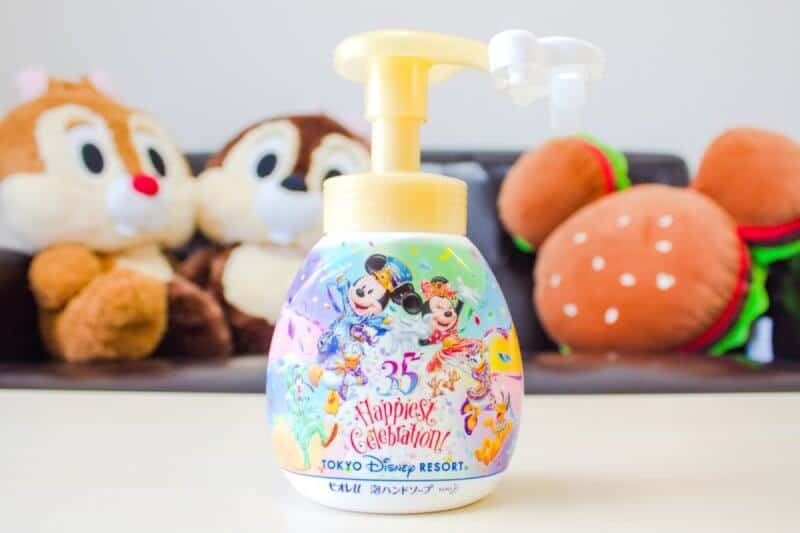 Mickey Hand Soap Dispenser Front