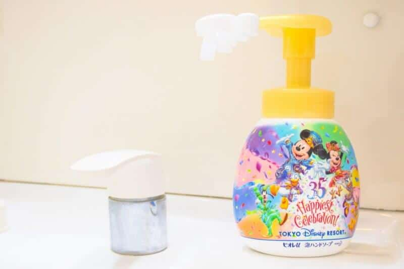 Mickey Hand Soap Dispenser Washroom