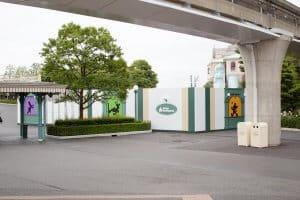 Ticket Gates Tokyo Disneyland 1