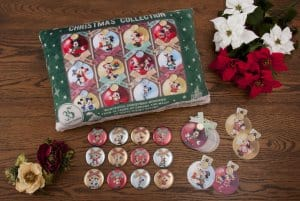 Christmas Cushion and Badges