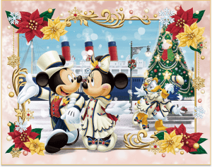 DisneySea Christmas Artwork