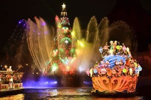 DisneySea Colors of Christmas