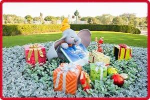 Tokyo Disneyland Dumbo Christmas Decorations