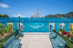 Hong Kong Disneyland Castle Construction Summer 2018 Front