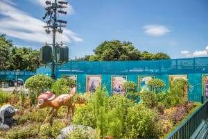 Hong Kong Disneyland Castle Construction Summer 2018 Side Again