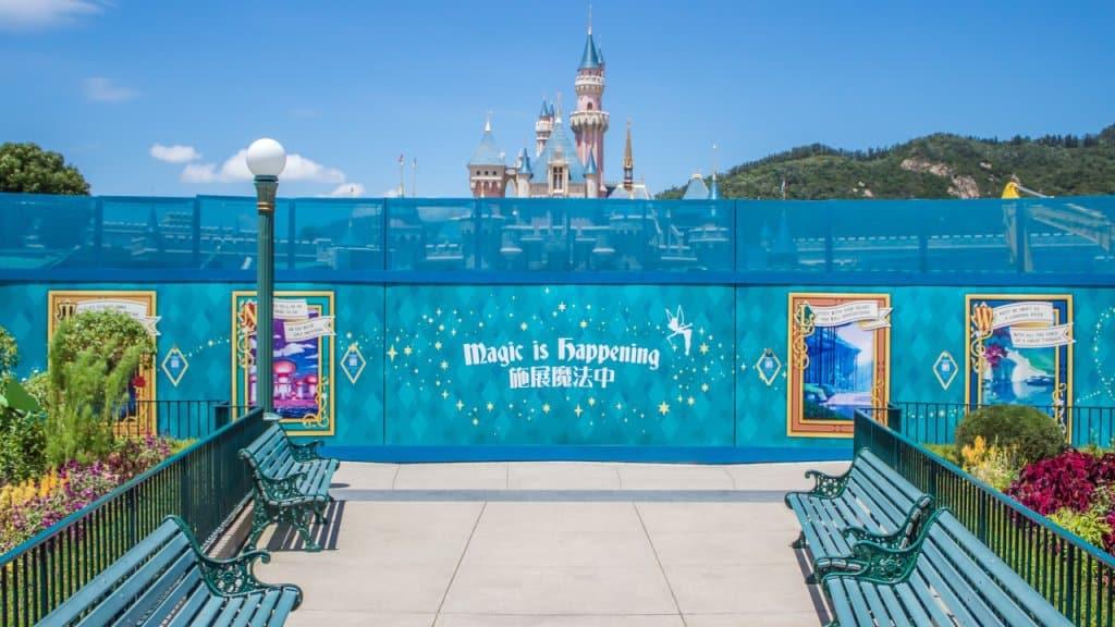 Hong Kong Disneyland Castle Construction Update (Summer 2018)