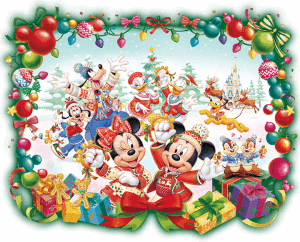 Disneyland Christmas Artwork
