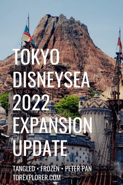 Tokyo DisneySea 2022 Expansion Update Pinterest