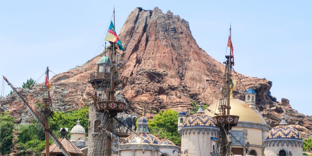 Tokyo DisneySea's Mount Prometheus to Undergo Construction Work 2019-2020