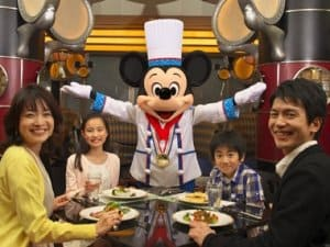 Chef Mickey Halloween Buffet