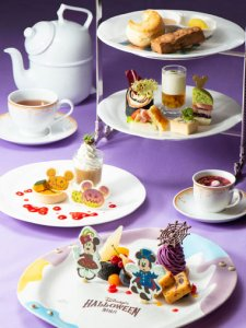 Dreamers' Lounge Halloween Afternoon Tea