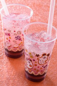 Grape and Sour White Sparkling Drink