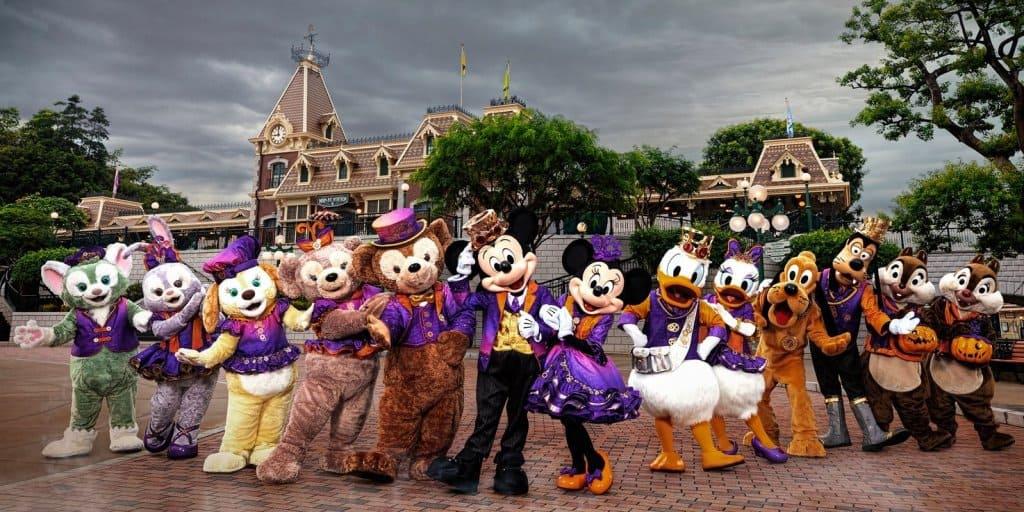 Hong Kong Disneyland Halloween Time 2018