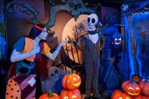 Hong Kong Disneyland Jack and Sally