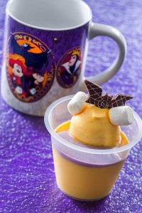 Pumpkin Pudding with Souvenir Cup