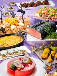 Sherwood Garden Halloween Buffet