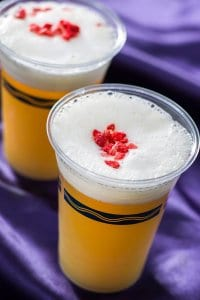 Sour White Beer Cocktail