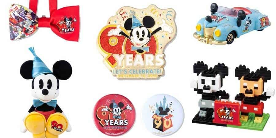 Tokyo Disney Resort 90 Years with Mickey Merchandise