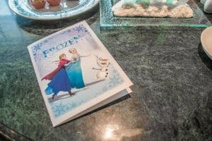 Afternoon Tea Set List Frozen Suite Hong Kong Disneyland Hotel
