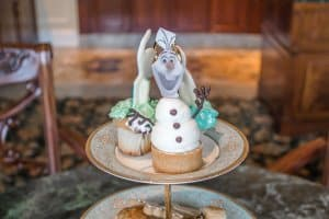 Afternoon Tea Set Olaf Frozen Suite Hong Kong Disneyland Hotel
