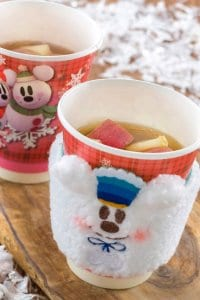 Apple and Cinnamon Hot Drink with Souvenir Sleeve
