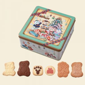 Assorted Cookies Duffy and Friends Christmas 2018