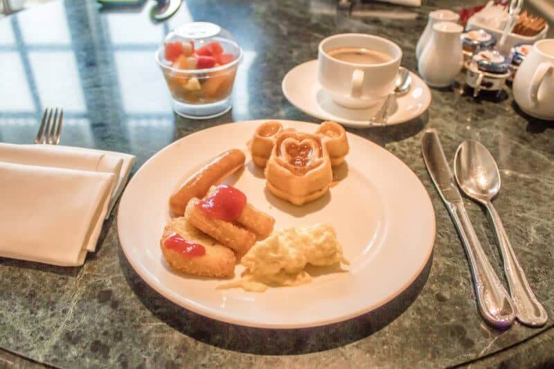 Breakfast Kingdom Club Hong Kong Disneyland Hotel