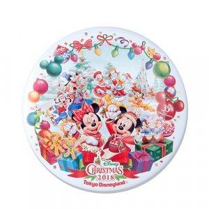 Can Badge Tokyo Disneyland Christmas 2018