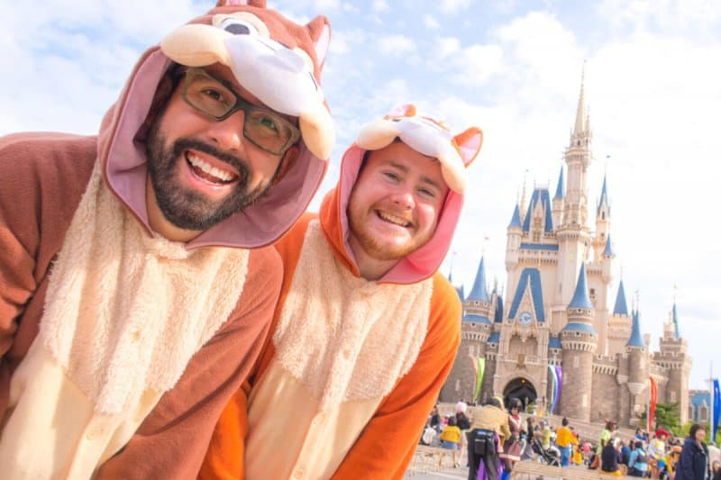 Chip n Dale Costumes Tokyo Disneyland