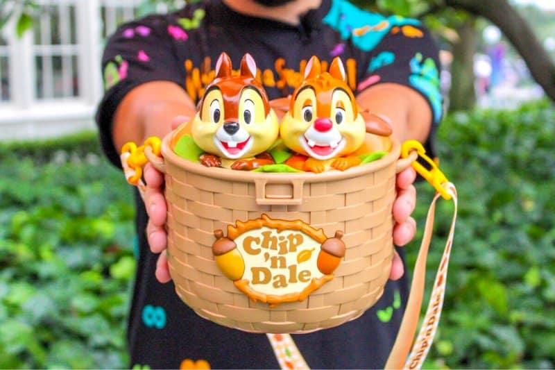 Chip n Dale Popcorn Bucket from Tokyo Disneyland & Tokyo DisneySea