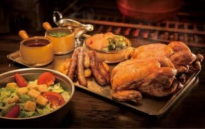 Christmas Feast at the Three Broomstick