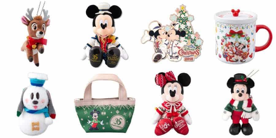 Tokyo Disney Resort Christmas – Merchandise 2018