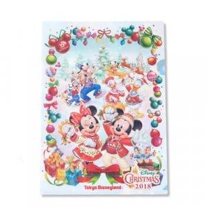 Clear File Tokyo Disneyland Christmas 2018
