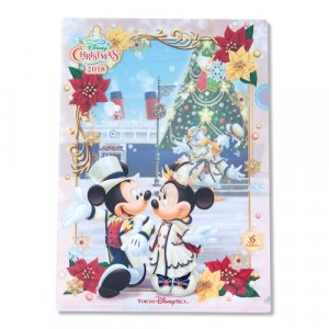 Clear File Tokyo DisneySea Christmas 2018