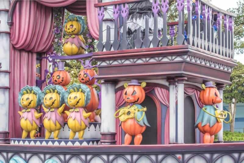 Country Bears Spooky Boo Parade Tokyo Disneyland